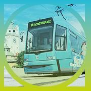U-Bahn, Tram und Bus